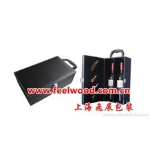 4月红酒包装盒特价销售  现货热卖 PU红酒盒 PU红酒包装盒