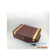 PU红酒包装盒  现货红酒包装盒