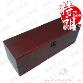 单支红酒木盒/单支仿红木酒盒/红酒包装油漆盒/义乌酒盒厂家