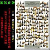 1945-2004年木桐酒庄珍藏酒标全图(武当王)
