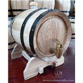 1.5L橡木桶酒类包装橡木桶红酒包装