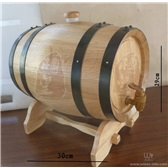 5L橡木桶美酒外衣红酒伴侣橡木桶发酵型橡木桶