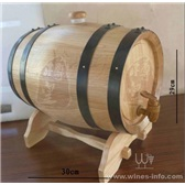 5L橡木桶美酒外衣酒类包装橡木桶