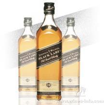 Johnnie Walker【黑方】酒吧专用 朋友聚会最常用洋酒黑牌