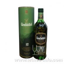 格兰菲迪12年纯麦威士忌(700ml)单一麦威士忌,苏格兰格兰菲迪威士忌12年