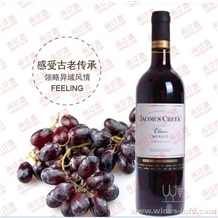 杰卡斯梅洛红酒,赤霞珠梅洛干红