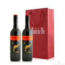 澳洲黄尾袋鼠赤霞珠干红葡萄酒