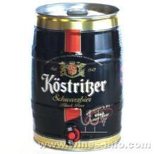 德国卡利特黑啤,卡力特黑啤5L,桶装卡力特啤酒专卖