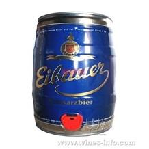 艾堡黑啤(德国)5L,原装桶啤艾堡,大桶艾堡啤酒销售