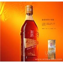 金色年华十年(和酒),上海金色年华(金枫酒业)专卖,批发石库门金色年华10年
