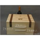 红酒木盒六支装 高档红酒盒 红酒木箱 定做 红酒礼盒 厂家批发