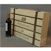 六支装红酒木箱 红酒礼盒 定做红酒木盒 单排 厂家直供 通用版