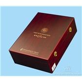 37.红酒包装盒 葡萄酒盒 双瓶装红酒木盒 双支哑光红木盒Q007