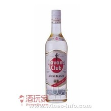 哈瓦那俱乐部白朗姆酒