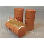 茶叶盒木盒软木皮盒桦皮茶盒收纳盒便携茶叶包装盒复古木皮树木盒