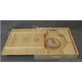 普洱茶木盒 厂家直销 定做批发 创意时尚木质茶叶盒 普洱茶架子