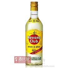 哈瓦那朗姆酒 哈瓦那俱乐部3年