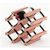 波多新型B网型组合式红酒架 实木红酒架 酒窖设计