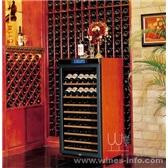 美晶实木恒温酒柜简约系列W230A
