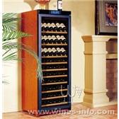 美晶实木恒温酒柜简约系列W330A