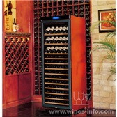 美晶实木恒温酒柜简约系列W380A