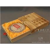 普洱茶饼礼盒定制个性木盒普洱茶木盒
