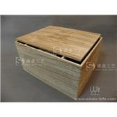 六支红酒木箱炭化复古酒盒六瓶装高档木盒桐木盒子