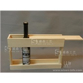 六瓶装木盒500ML木盒木架