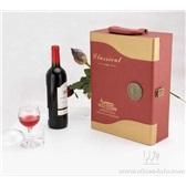 新款双支红酒包装皮盒/高档酒盒/浙江酒盒厂家/双支葡萄酒礼盒促销