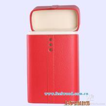 【高档PU】喜庆红色双瓶装皮质酒盒