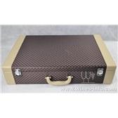 高档pu新款六支高档红酒皮盒厂家定制红酒皮盒纸盒