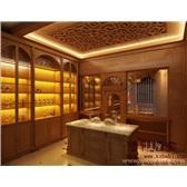 私人酒窖设计展示效果图-博轩酒窖