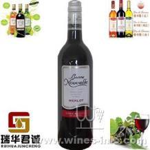 伯尼努瓦勒梅洛无醇干红葡萄酒