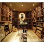 晟世名莊紅酒展示柜廠,服裝展示柜,晟世名莊別墅酒窖工程,紅酒專賣店裝修