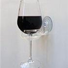 吸盘式酒杯架