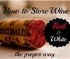 如何正确地保存一瓶葡萄酒