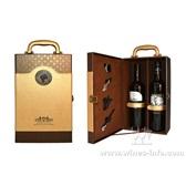 皮質紅酒包裝盒