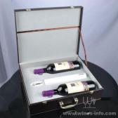 百诣高档干电池电动开瓶器酒箱2件套BY717