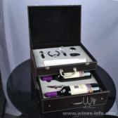 百诣白色干电池电动开瓶器双层双支酒箱BY720