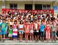 致力于回馈社会,富隆坚持资助希望小学