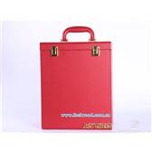红色六只酒盒