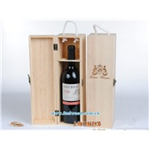单只松木红酒盒