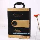 高档红酒皮盒(双瓶装)