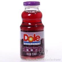 都乐(Dole)100%葡萄汁 都乐 250ml*24瓶 整箱批发价格