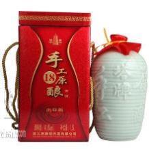 上海黄酒生产厂家、塔牌18年价格、手工原酿 14度 1.5L