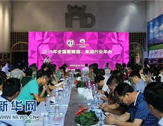 2016年全国msyz555果酒行业年会在宁夏石嘴山举行