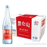 【供应矿泉水】、团购昆仑山 雪山矿泉水1.23L*12瓶、团购特价