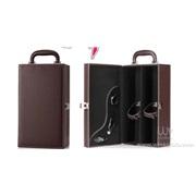 JX-234A  双支皮盒 红酒盒 葡萄酒盒 红酒礼盒 葡萄酒包装盒 红酒包装