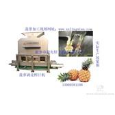 菠萝剥皮榨汁机 菠萝去皮 菠萝生产线  LXZZJ