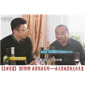 福海冰谷冰葡萄酒 CCTV2生财有道 鸭绿江河谷冰葡萄酒